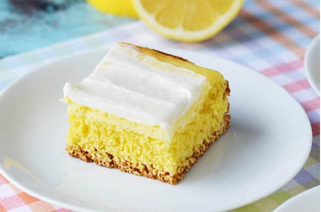 Cream Cheese Lemon Bar Recipe from CraftCreateCook