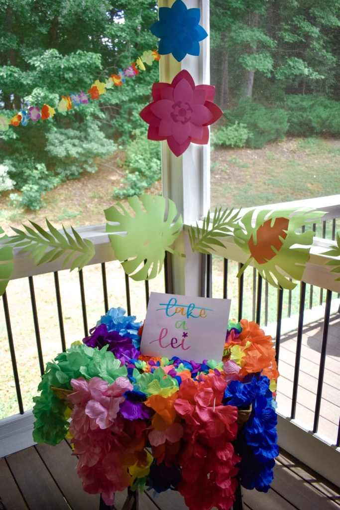Backporch Luau Summer Party