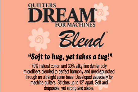Quilters Dream Blend