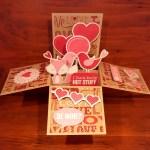 Anniversary Pop Up Box Card