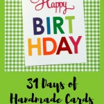 31 Days of Handmade Cards – Day 1
