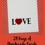 31 Days of Handmade Cards – Day 4