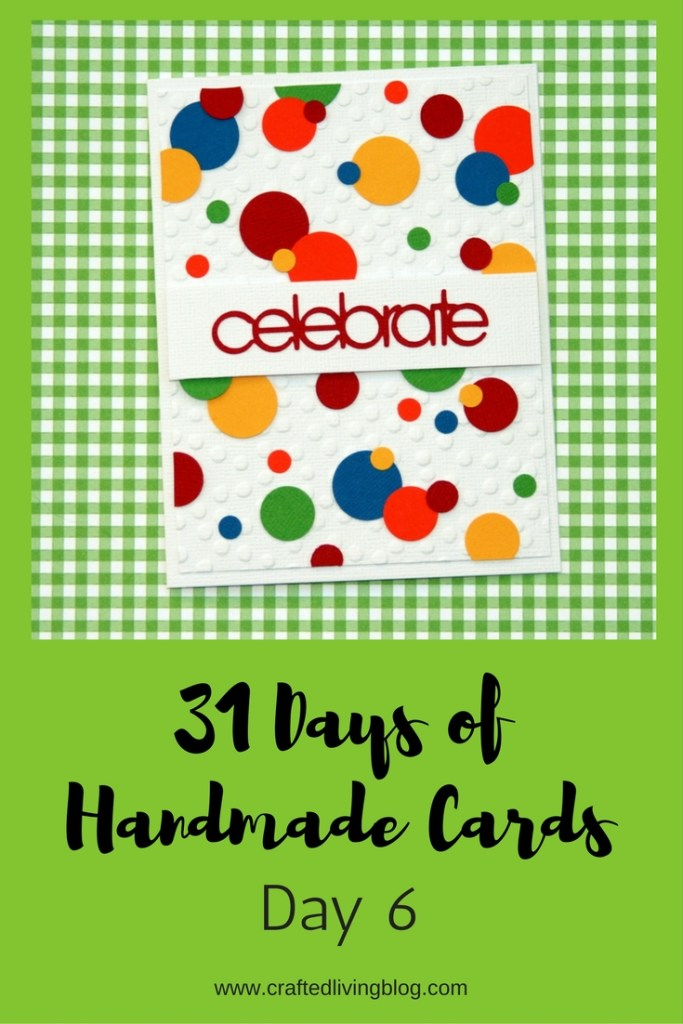 Welcome to Day 6 of 31 Days of Handmade Cards. 31 days of card making tutorials showcasing birthdays, love, thanks and thinking of you.