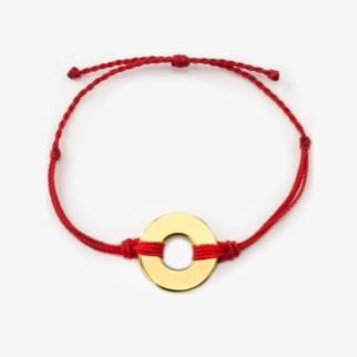 refill twist bracelet red gold