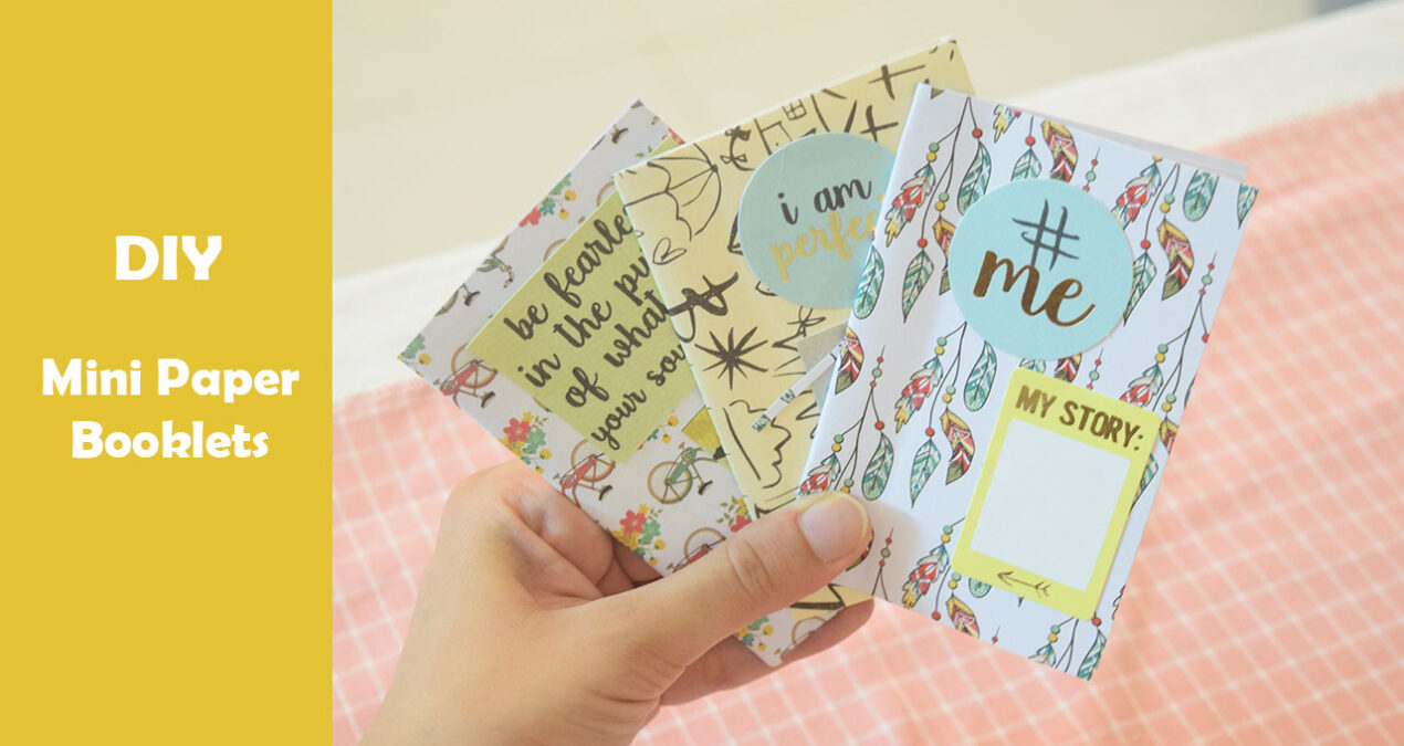 5 minute DIY- Easy to make Mini Diary Tutorial