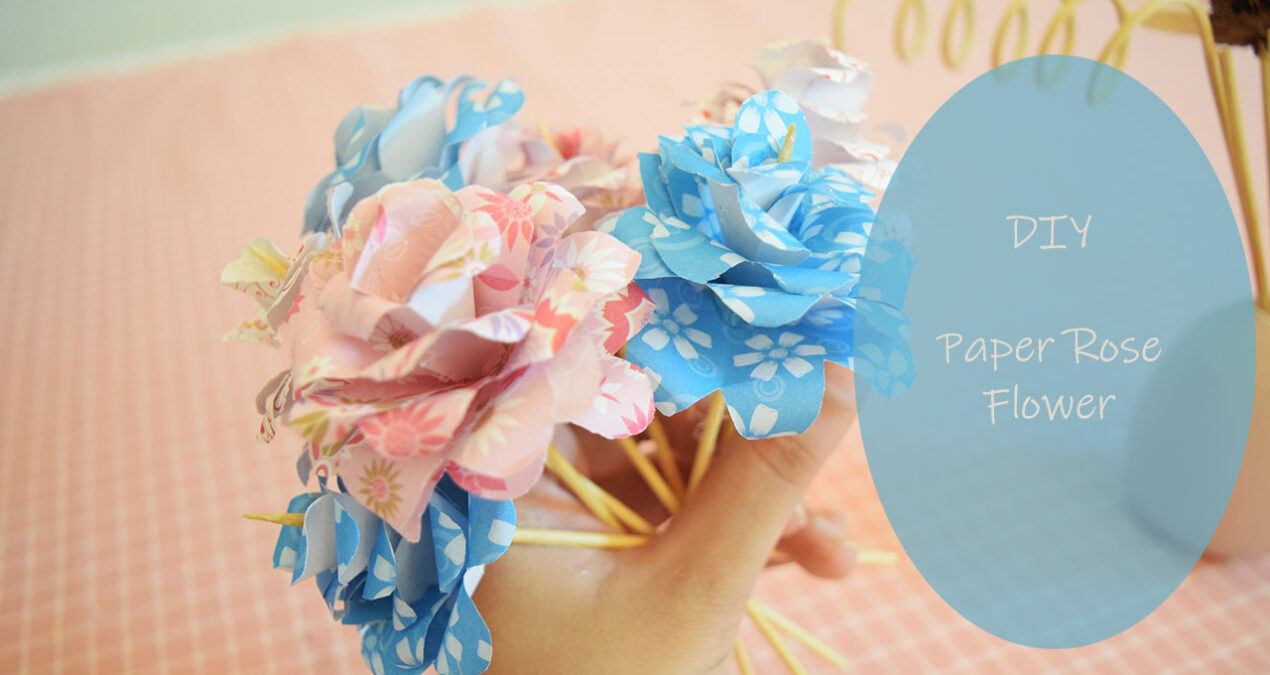 DIY Paper roses- How to Make paper roses in Easy Way