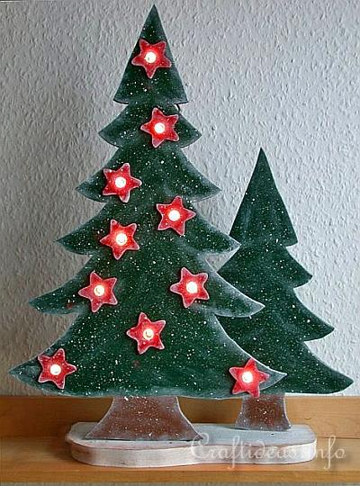 Wood Christmas Tree Template
