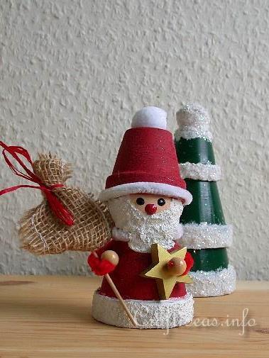 Christmas Clay Pot Craft Ideas