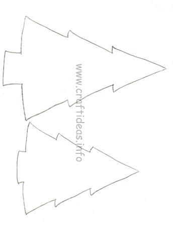 Christmas Tree Crafts Pattern