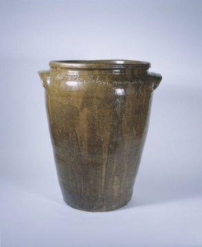 "David ""Dave the Potter"" Drake, Food storage Jar, Made for John Monday, 1857. Courtesy McKissick Museum, University of South Carolina"