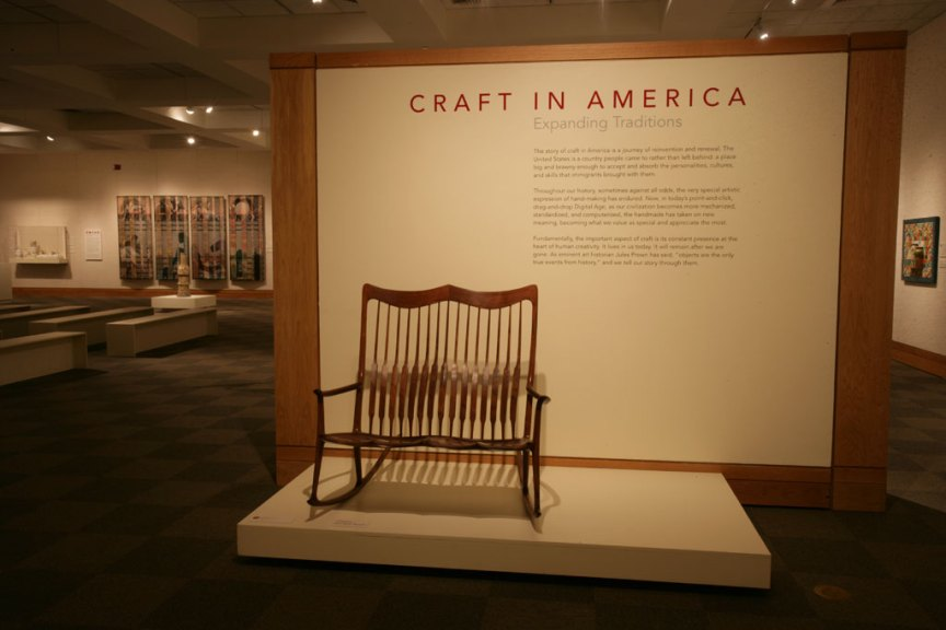 Sam Maloof, Double Rocker, 2006 at the National Cowboy & Western Heritage Museum