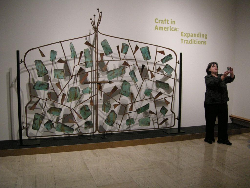 C. Carl Jennings, Gate, 1971 at the Cranbrook Art Museum