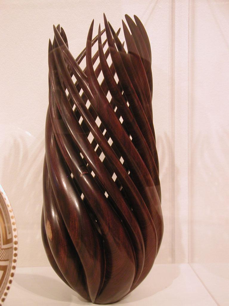 William Hunter, Kinetic Garden, 2005 at the Fuller Craft Museum