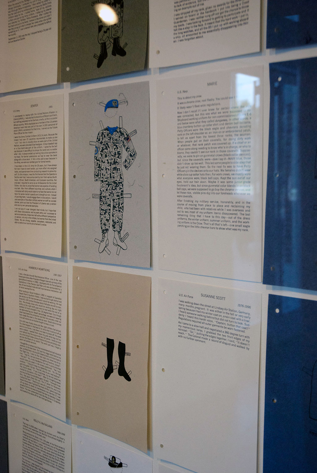Pam DeLuco, Paper Dolls - Stories from Women Who Served, 2013
