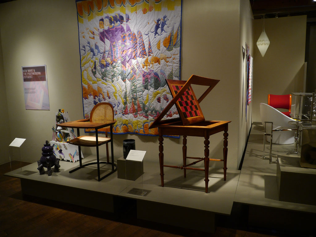 Paul Tuttle, Tablet Chair, Katherine Westphal, The Puzzle of Floating World #2; John Cederquist, The Game Table