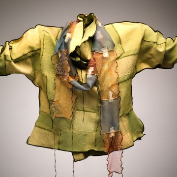 Deborah Cross, Silk Jacket, 2007. Paul Schwab photograph