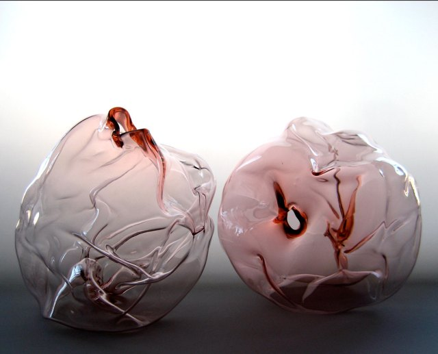 Kiara Pelissier, How,l 2006. Blown glass