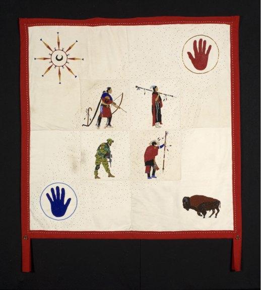 Teri Greeves, Prayer Blanket, 2006