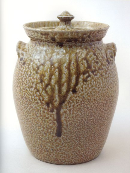 Pamela Owens, Lidded Jar, Jugtown Pottery