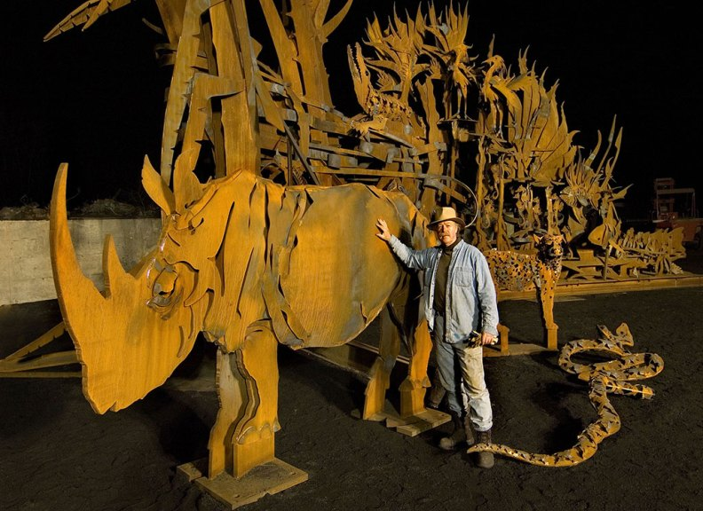 Albert Paley, Animals Always Gate at St. Louis Zoo. Courtesy of Paley Studios