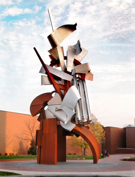 Albert Paley, Sentinel. Courtesy of Paley Studios