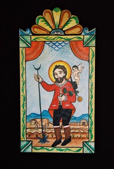 Charles M. Carrillo, San Isidro Labrador – St. Isidore. Adrian Aragon photograph