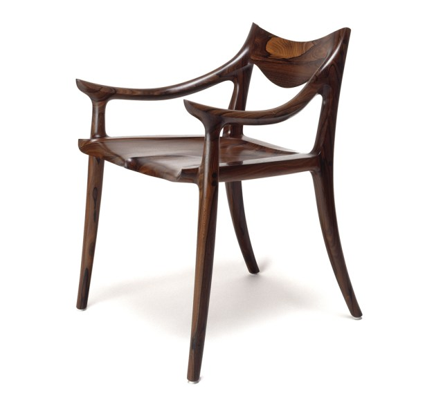 Sam Maloof, Side Chair, 1975, Gene Sasse Photograph