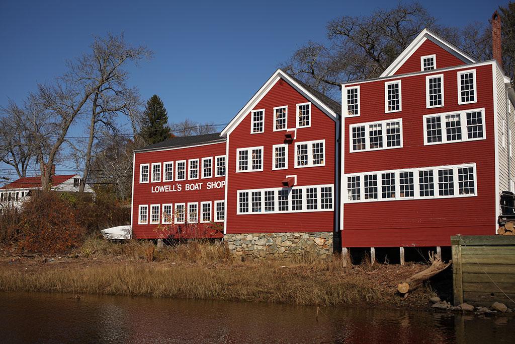 Lowell's Boat Shop. Mark Markley photograph