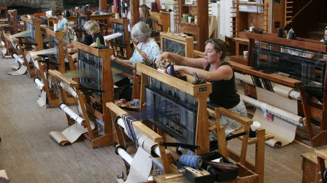 Penland School of Crafts, Resident Artist's Studios, Weaving Looms