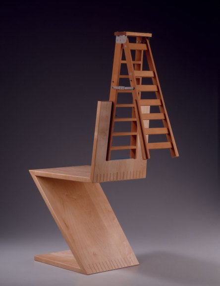 Garry Knox Bennett, Ladderback, 2003. M. Lee Fatheree photograph