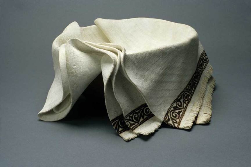 Michelle Holzapfel, Draped Bowl, 2004