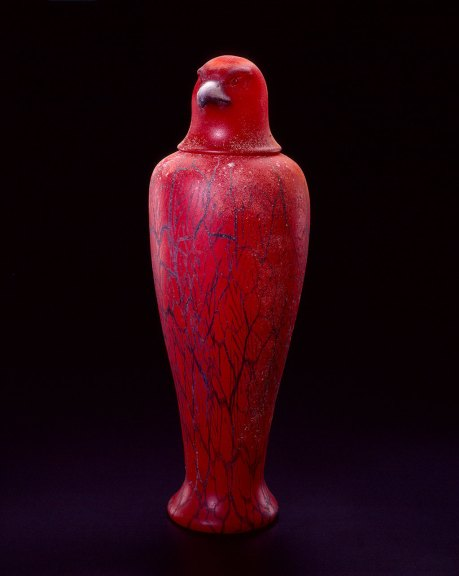 William Morris, Canopic Jar: Hawk