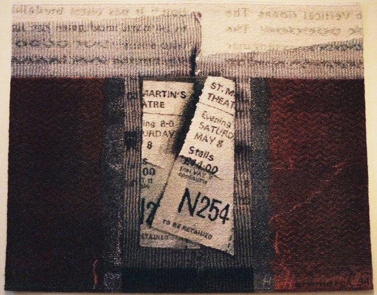 Helena Hernmarck, Theatre Tickets, 1994