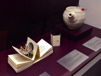 (l-r) Dorothy Yule, Memories of Science, 2012; Sandy Simon, Lucky Teapot, 2015