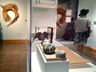 CA California Handmade: State of the Arts, (c-r) Hiromi Takizawa Mineral, 2014;Matthew Hebert, Cinder Slump, 2013