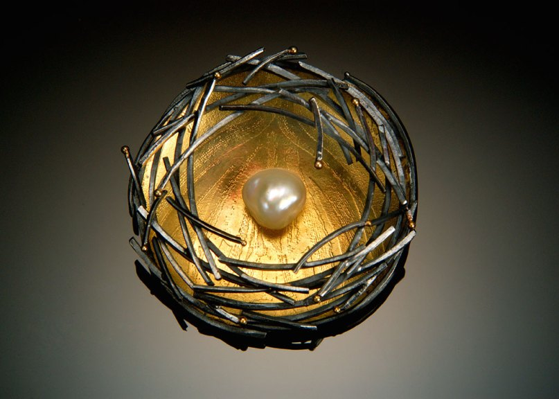 Sydney Lynch, Bird Nest Pin