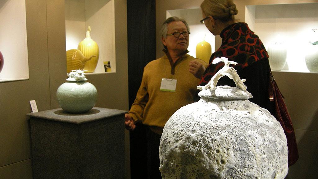 Cliff Lee, Ceramic Artist, potter, Family, Craft in America