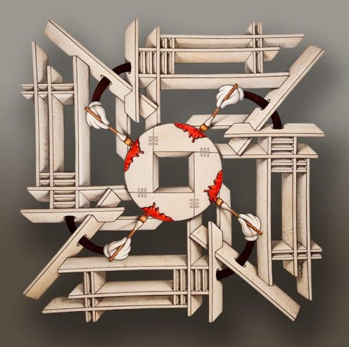 Zen and the Art of Painting with Wood by John Cederquist