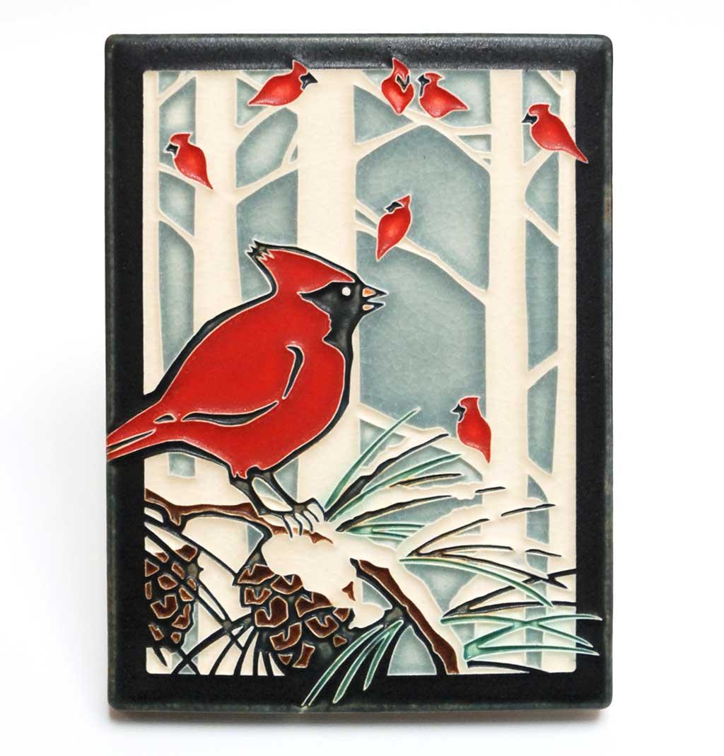 Motawi Tileworks, Winter Cardinals
