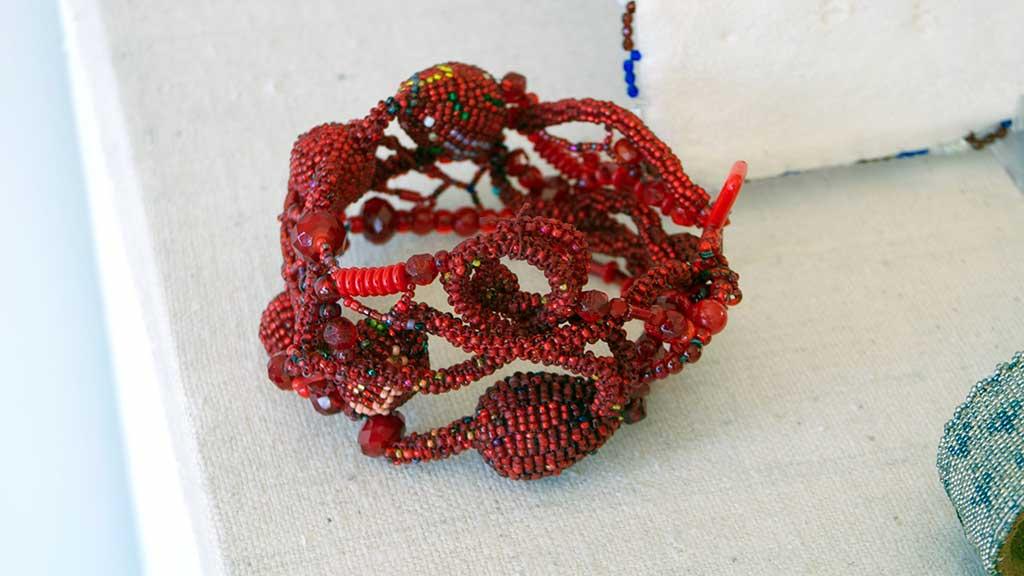 Joyce J. Scott, Bracelet, 2011, Craft in America