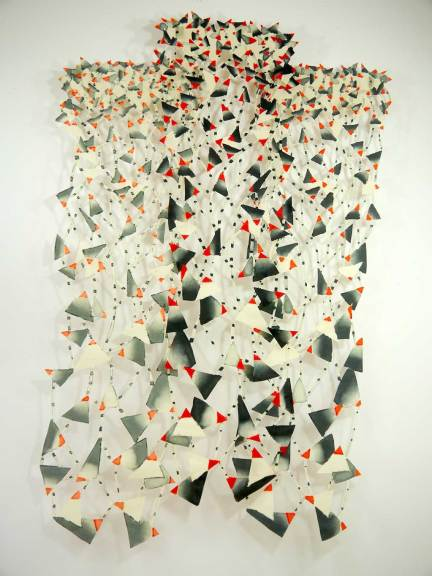 Joy Stocksdale, Dotted Lines & Triangles, 2013