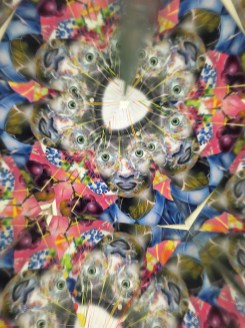 Fairfax High School student kaleidoscope project
