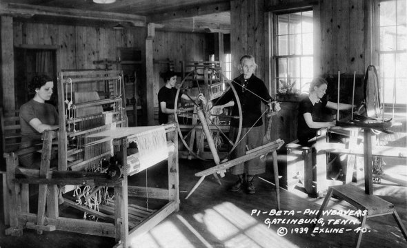 Arrowmont Weavers