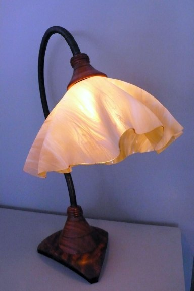 Clark Renfort, Swan table lamp, 2015