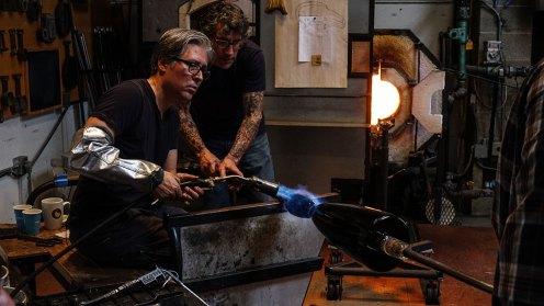 Preston works with assistant Joseph A. Benvenuto
