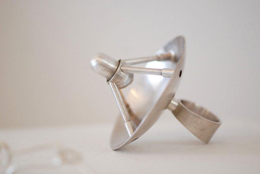 Jana Brevick, Tracking Device Ring, Eavesdropping Series, 2010