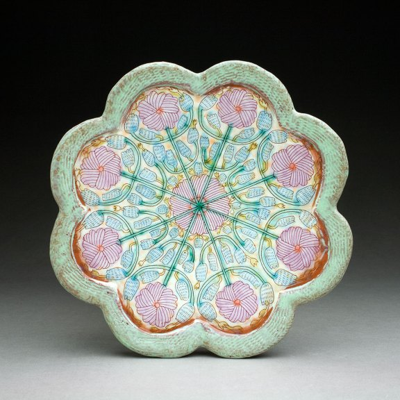 Shoko Teruyama, Flower Plate, 2016