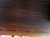 Mira Nakashima's signature
