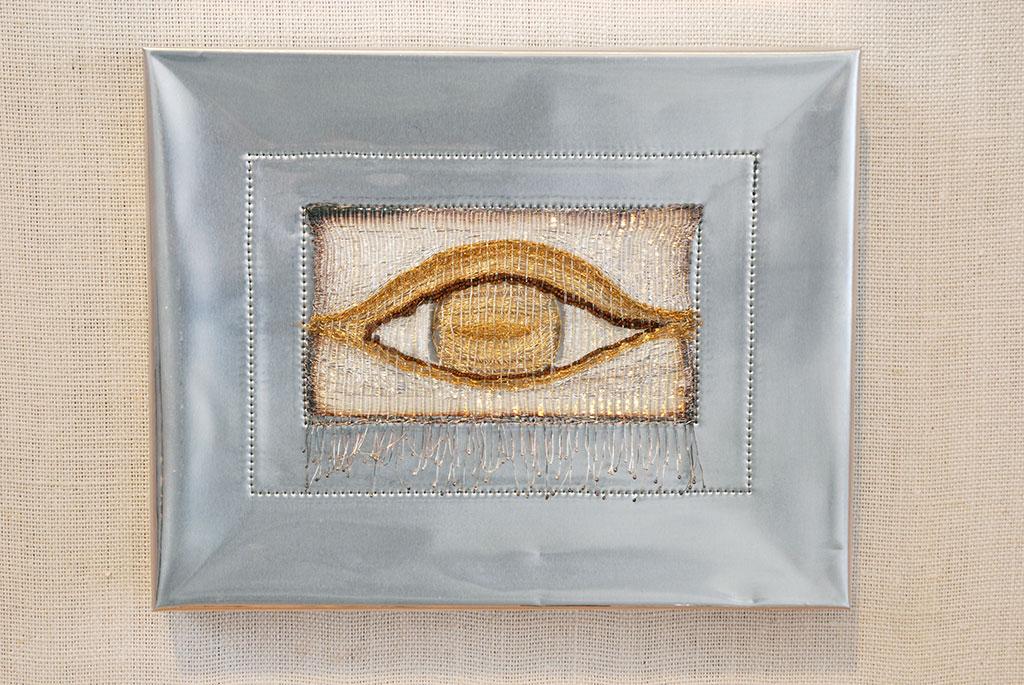 Arline Fisch, Reflections in a Golden Eye, 1976