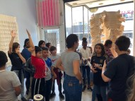 "Education Outreach, Rosewood Elementary Visits ""Mary Little: The Shape of Cloth"""